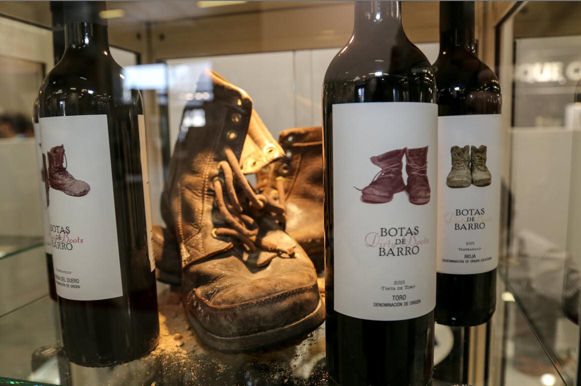 Vinisud Montpellier 2017 Botellas y Botas